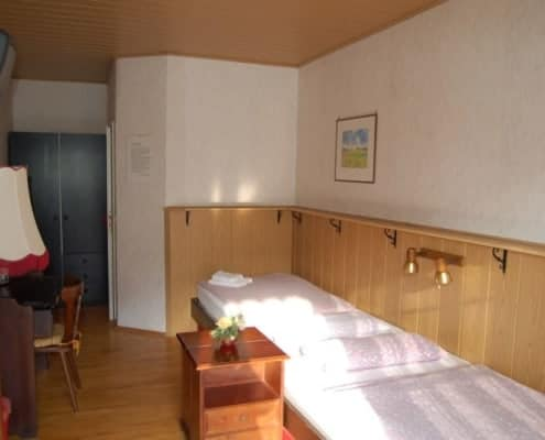 Monteurzimmer Leipzig Zweibettzimmer